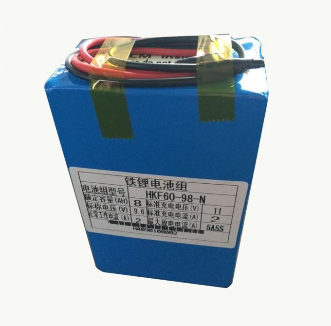 8000mah 9.6V Lithium Ion Battery For Farm Insecticidal Lamps