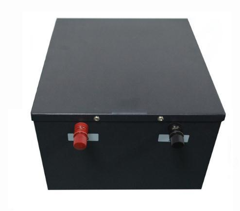 48V 100AH Lithium Battery For Large AGV Vehicle , CE, ISO , MSDS Certificated