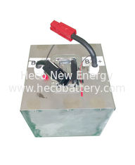 Rechargeable Pure LiFePO4 Car Battery , 96V 100Ah with Suitable BMS supplier