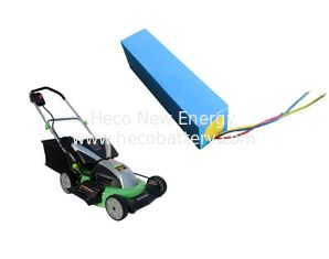 36V 16Ah High Energy Density LiFePO4 Power Battery For Mower supplier