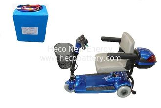 High Discharge Rate Electric Scooter LiFePO4 Power Battery , 24Volt  20Ah Lithium Batteries supplier