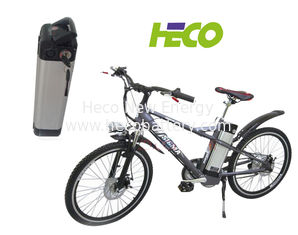 Aluminum Case Electric Bike Lithium Battery , 36V 10Ah Lifepo4 battery 87*85*370mm supplier