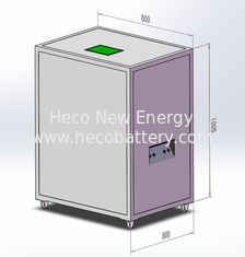 China CE Certificated 30KWh Solar Lithium Battery Bank , Intergrated with BMS supplier