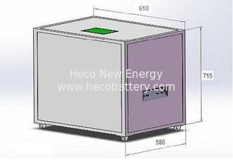 China Solar Lithium Batteries for PV Power System , 48V 300AH LiFePO4 Battery Bank supplier