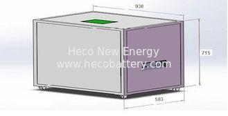 China 48V 500AH LiFepo4 Battery Bank , 20KWh Energy Storage Lithium Battery with BMS Intergrated supplier