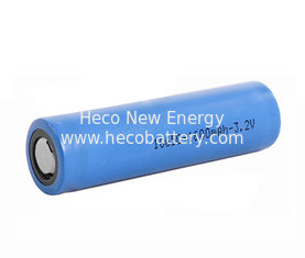18650 3.2V 1600mah Cylindrical Shape LiFePO4 Lithium Ion Battery Cell 1C Discharge Rate supplier