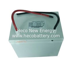 China Solar System Component 12V / 50Ah Solar Lithium Batteries With Battery Housing supplier