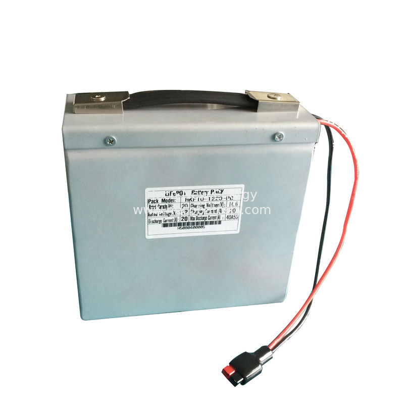 20AH LiFePO4 Lithium Battery At 12 Volts For Solar LED Street Lamp CE ROHS
