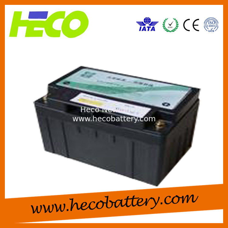 60V120AH Energy Storage Car Battery With BMS System , Customized Size