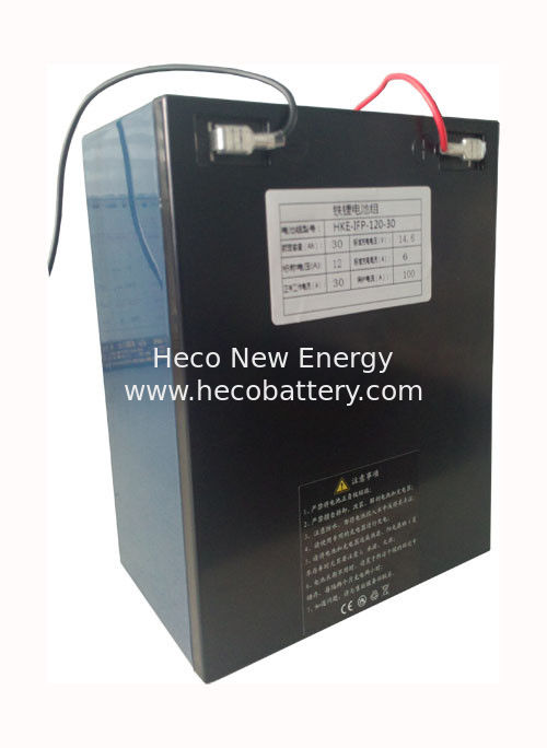 12V 30Ah LiFePO4 Lithium Polymer Battery Pack For Energy System