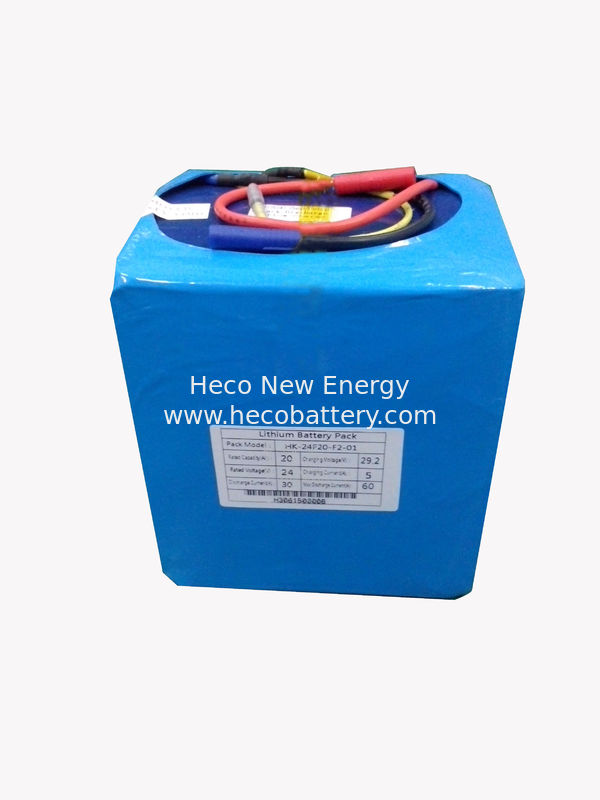 Scooter Lithium Polymer Battery Pack , 24V LiFePO4 Battery Module supplier