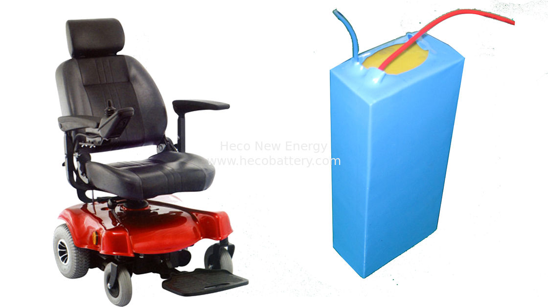 10Ah 24Volt Electric Wheelchair Lithium Battery In Compact Size & Long Cycle Life