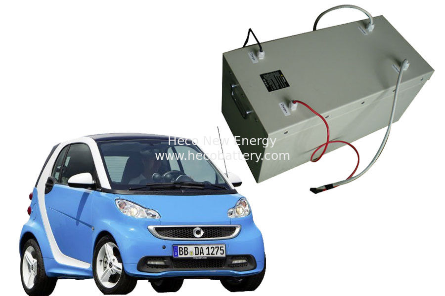 Rechargeable 96V 60Ah LiFePO4 Power Battery Pack For Electric Car supplier