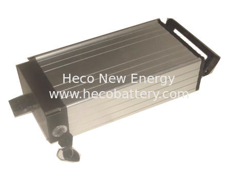 Aluminium Casing Electric Bike Lithium Battery ,48V 10AH LiFePO4 Battery , Suitable For Large Discharge Current