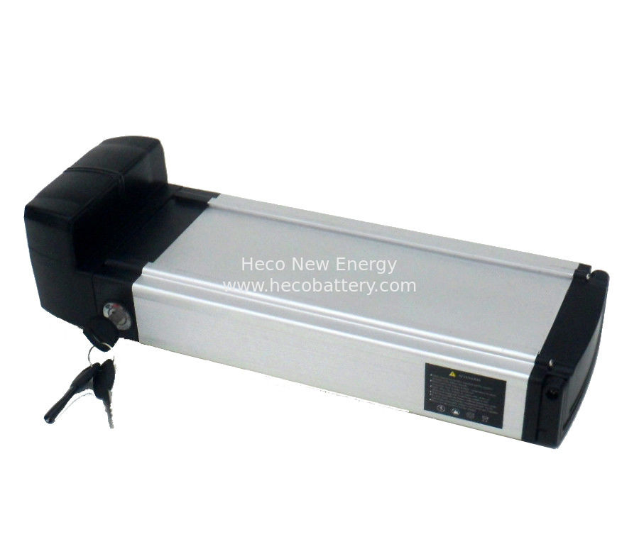 10Ah Electric Bike Lithium Battery Rear Rack Type , 36V / 24V Rechargeable LiFePO4 Battery with Controller Box supplier