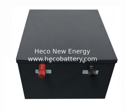 48V 100AH Lithium Battery For Large AGV Vehicle , CE, ISO , MSDS Certificated supplier