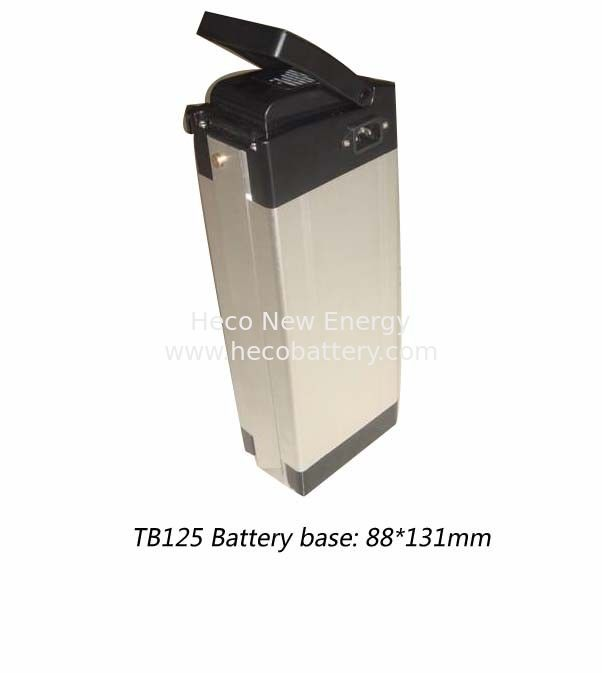 Compact LiFePO4 Power Battery 36V 15Ah With Aluminum Case for Electric Bike