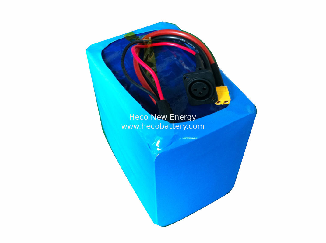Electric Scooter LiFePO4 Power Battery , 48V 10Ah Lithium Battery Pack