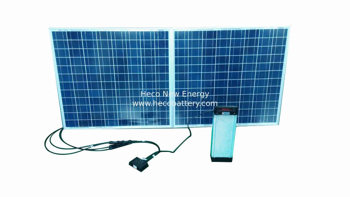 Pannello Solare Per Bicicletta : Batteria al litio ricaricabile v ah per la bicicletta