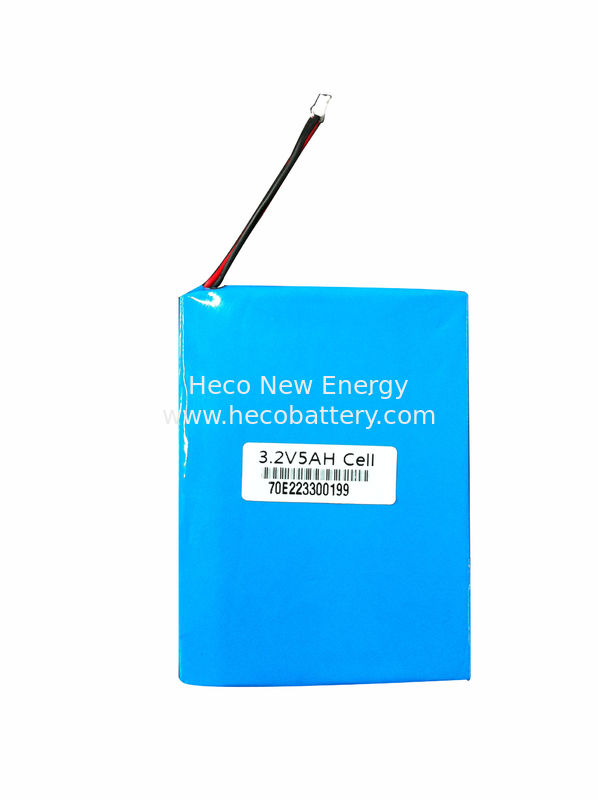 3.2V 5Ah Solar Lithium Batteries Lifepo4 Eco-friendly With High Safety supplier