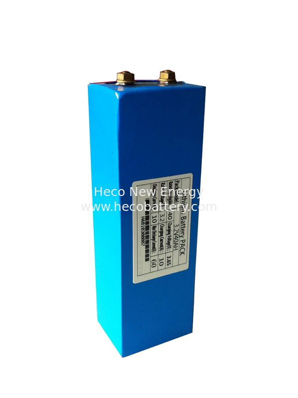 LiFePO4 Battery Module 3.2V 40AH , Lithium Battery Module  Long Cycle Life and Compact Size