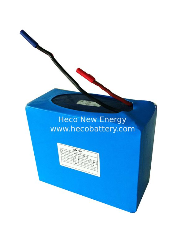 Solar Powered Lithium Batteries 12V LiFePO4 Battery Pack 40Ah supplier