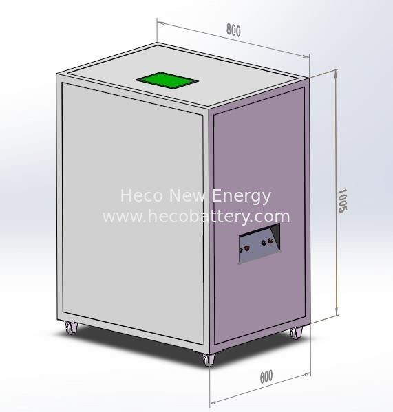 CE Certificated 30KWh Solar Lithium Battery Bank , Intergrated with BMS