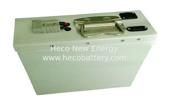 60Ah Electric Scooter Lithium Battery , 24V Lifepo4 Battery Pack With Handle supplier