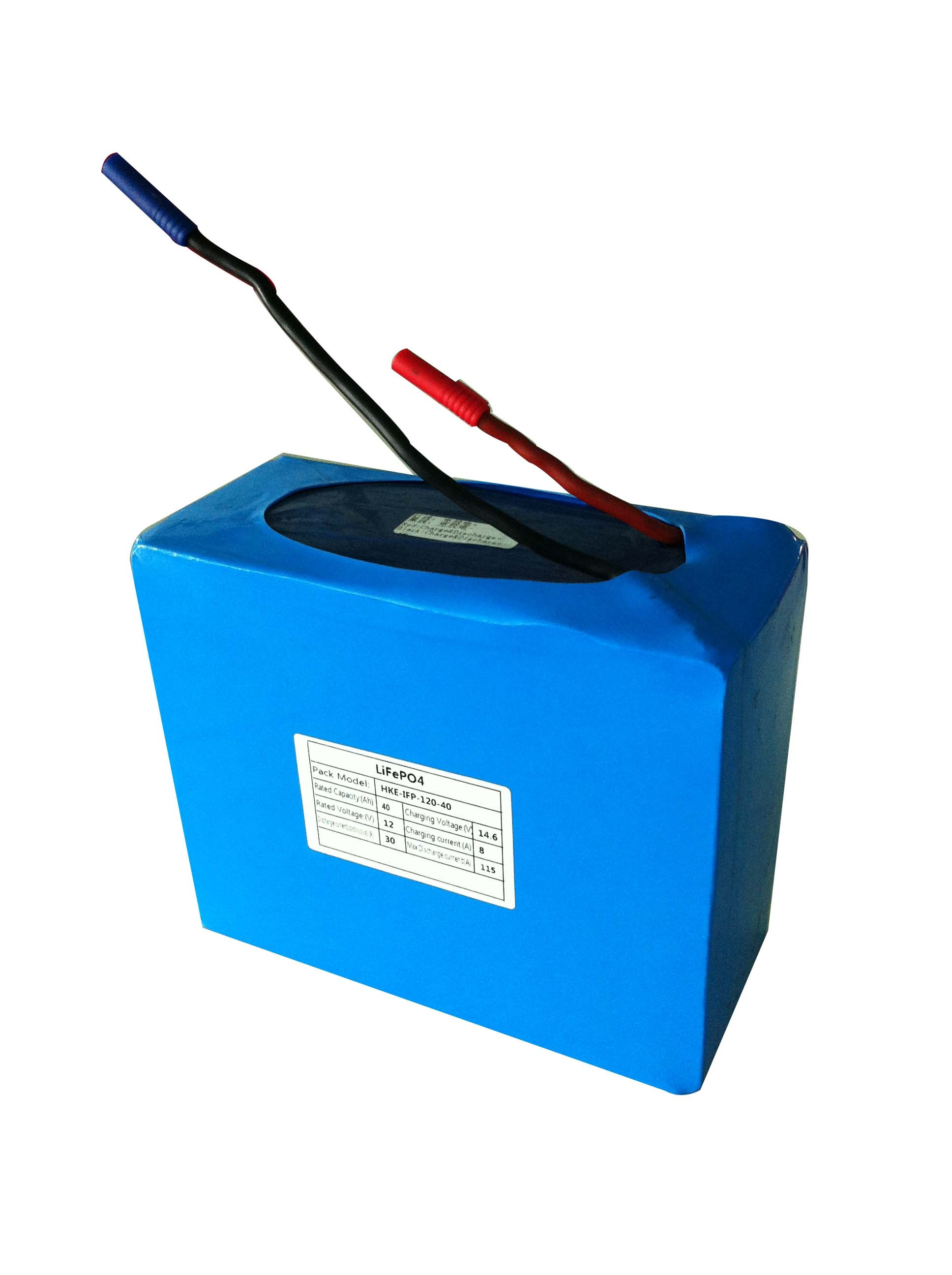 12volt Lifepo4 Battery 40ah Energy Storage Lithium Ion Batteries For Solar Street Light