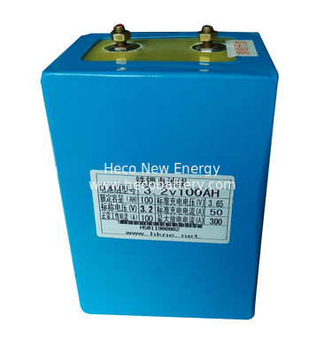 100Ah Li - polymer Battery Module , 3.2V Lithium Iron Batteries In Compact Size