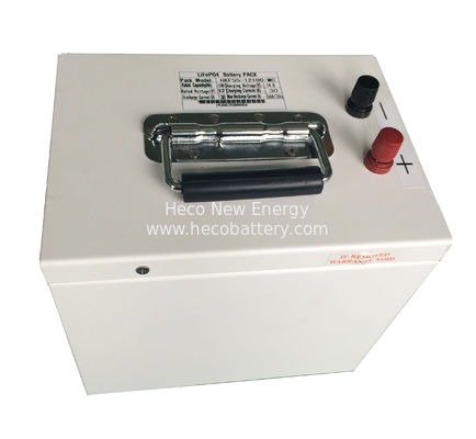 Large Capacity 100AH At 12V LiFePO4 Battery Pack , Rechargeable Lithium Battery With Good High Temperature Performance