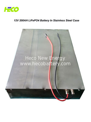 200Ah LiFePO4 Battery Pack , 12V 2KWh Lithium Batteries For Family Solar System