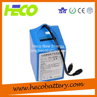 12V 25AH Electric Scooter Lithium Battery With BMS System , Weight 3KG