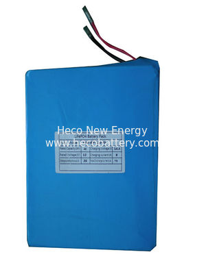 Long Cycle Life 12V 40Ah Lithium Battery Module , 200*100*150mm