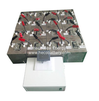 China High Capacity 30KWh ( 800Ah 48V ) LiFePO4 Battery Bank For Solar Power Storage factory