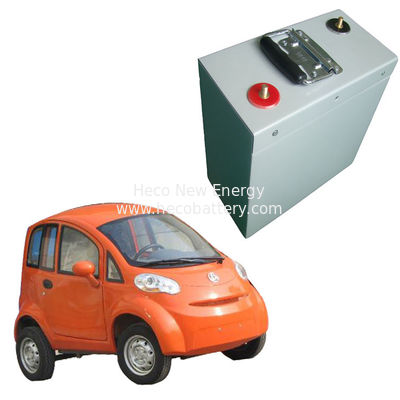 China Environmental Lithium Battery For High Speed Electric Car , 96V 60AH LiFePO4 Battery Pack factory