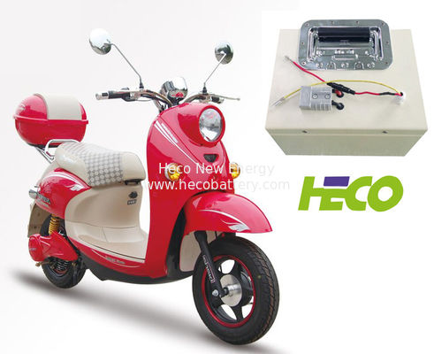 60V 30Ah Motorcycle Lithium Battery , LiFePO4  Lithium - Ion Battery Pack
