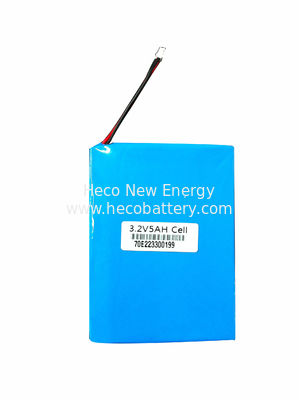 China 5000mah 3.2V Energy Storage Lithium Ion Battery , LiFePO4 Cell 967795 , Emergency Lighting Battery factory