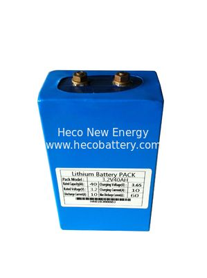 40AH Lithium Battery Module , 3.2V LiFePO4 Battery ROHS / CE