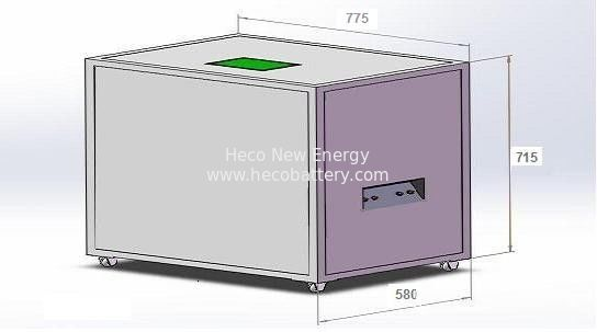 20KWh Energy Storage Lithium Ion Battery , 48V 400AH LiFePO4 Battery Bank CE, ISO