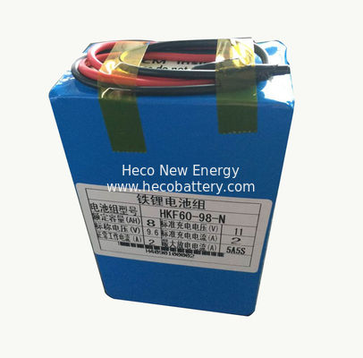 China 8000mah 9.6V Lithium Ion Battery For Farm Insecticidal Lamps factory